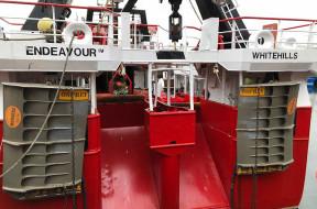 Une famille de pêcheurs écossais ravie des performances des portes de chalut Osprey de Morgère